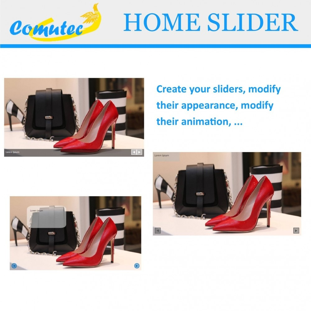 module - Sliders & Galleries - Comutec Home Slider - 1