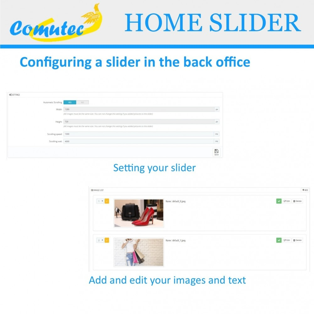 module - Sliders & Galleries - Comutec Home Slider - 3