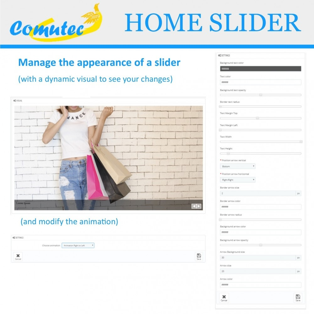 module - Sliders & Galleries - Comutec Home Slider - 4
