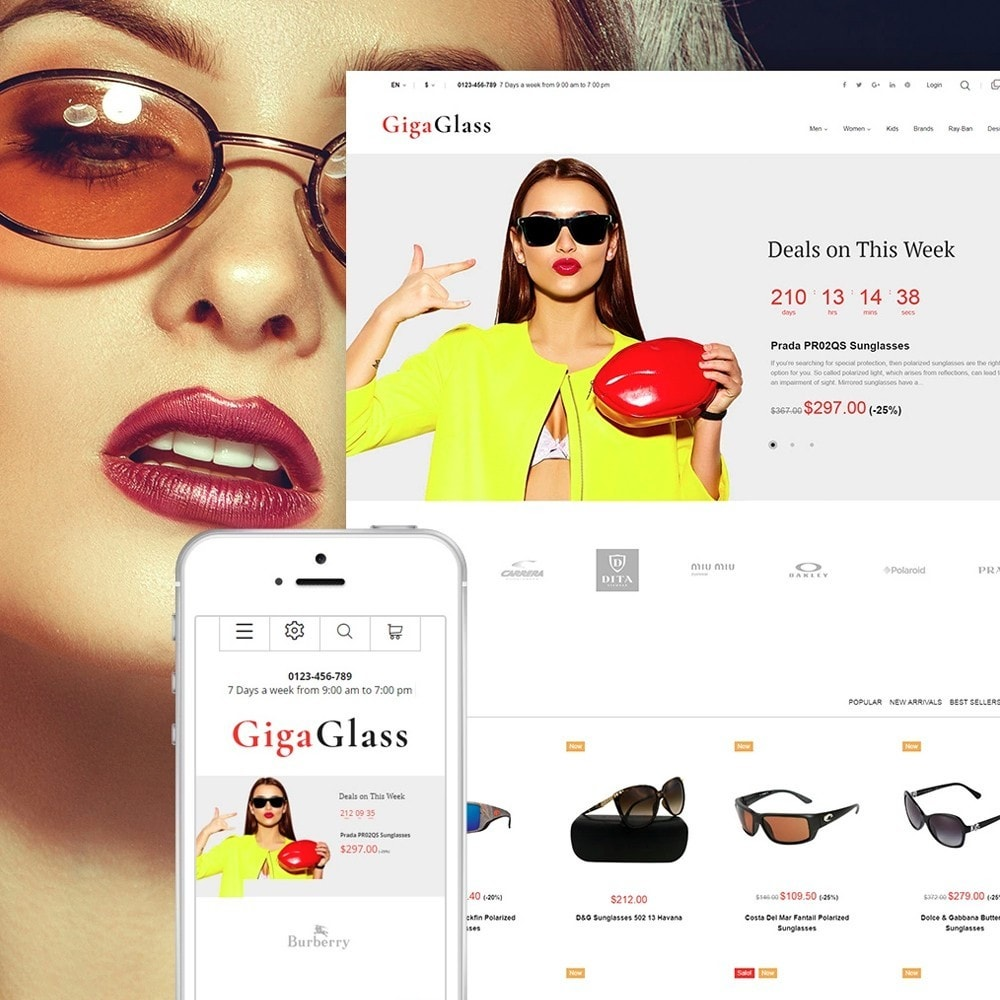 theme - Fashion & Shoes - GigaGlass - 1