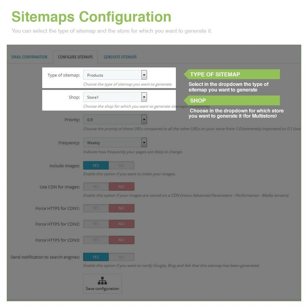 module - SEO - Multilingual and Multistore Sitemap Pro – SEO - 3
