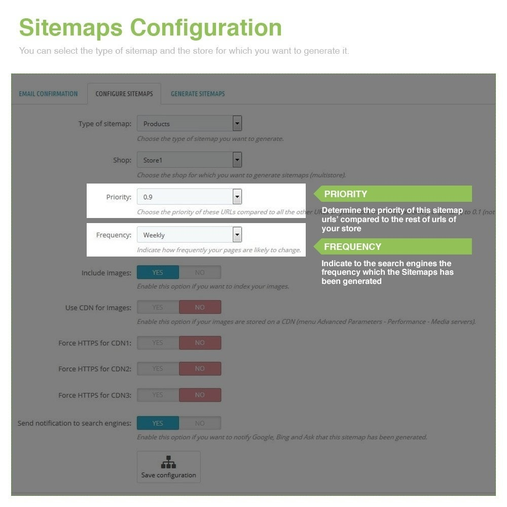 module - SEO - Multilingual and Multistore Sitemap Pro – SEO - 4