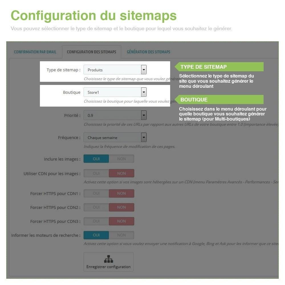 module - SEO (référencement naturel) - Sitemaps Pro Multilingues et Multi-Boutiques - SEO - 3