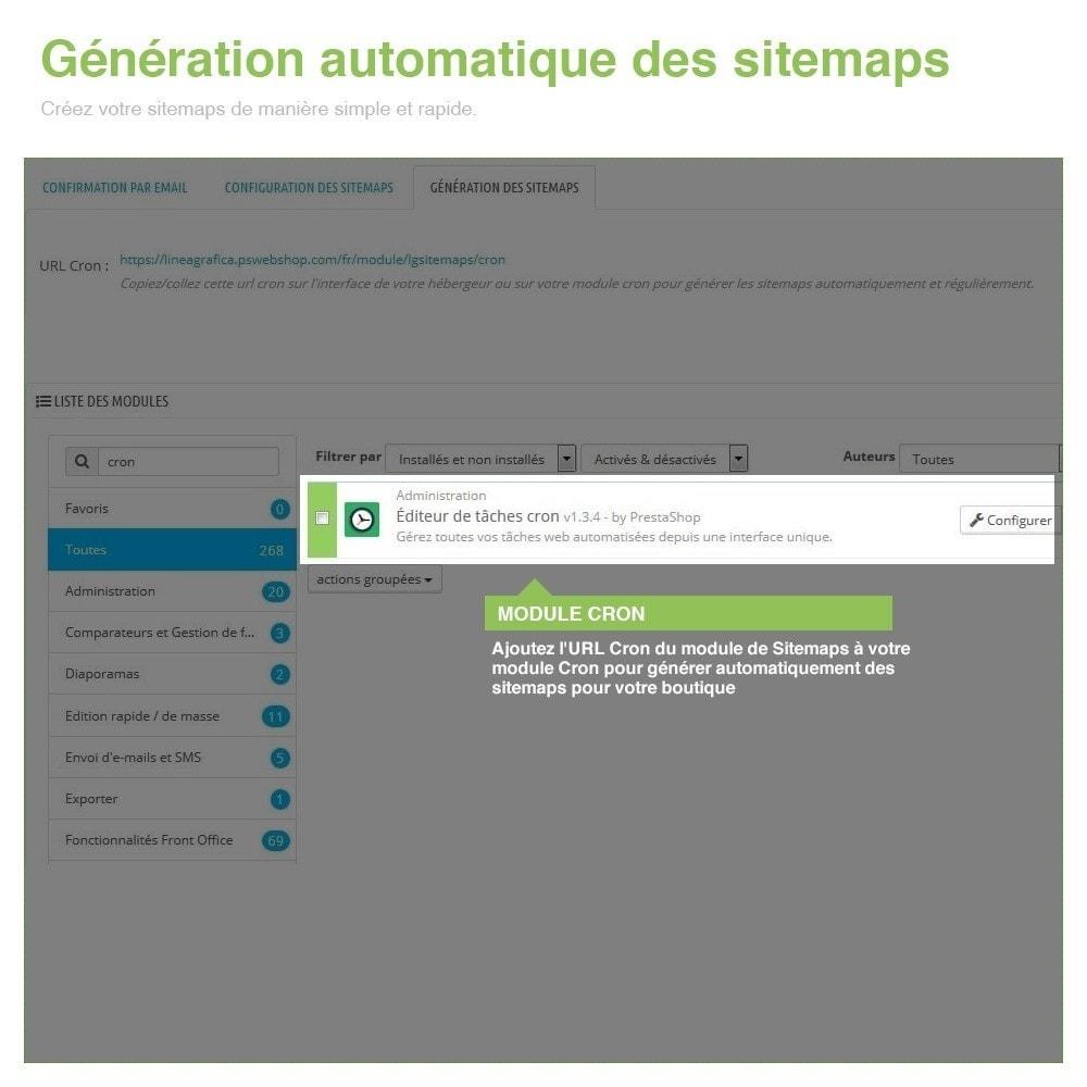 module - SEO (référencement naturel) - Sitemaps Pro Multilingues et Multi-Boutiques - SEO - 10