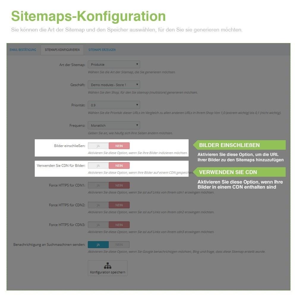 module - SEO - Multisprach und Multishop Sitemap Pro - SEO - 4