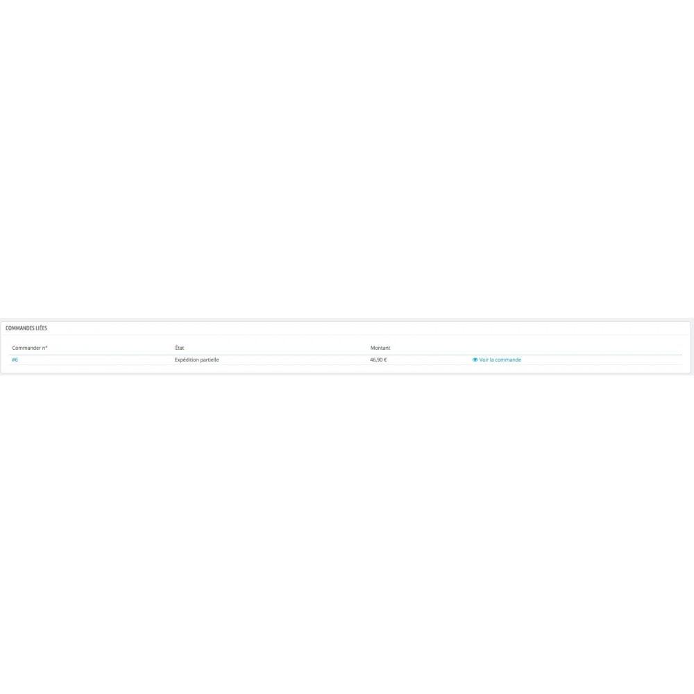 module - Gestion des Commandes - Livraison partielle - Reliquat de commande - 5