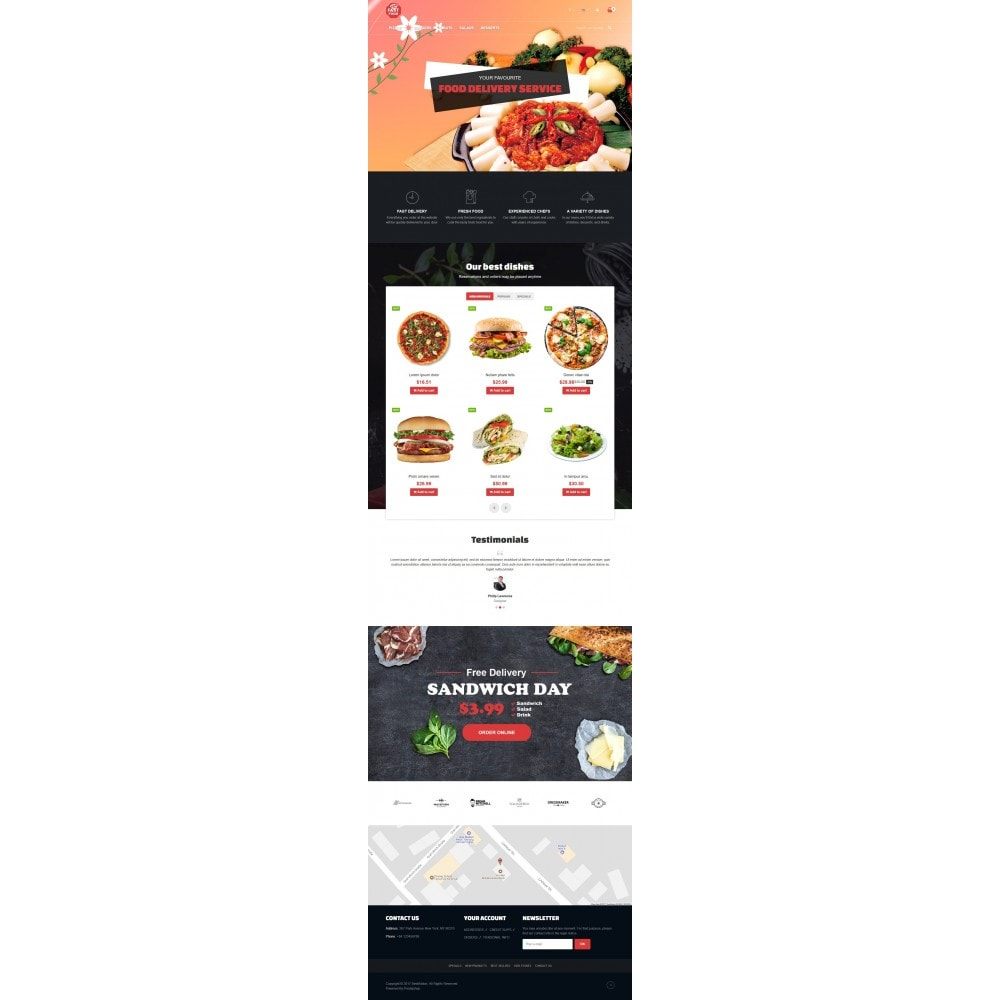 theme - Alimentation & Restauration - VP_Fastfood Store - 2
