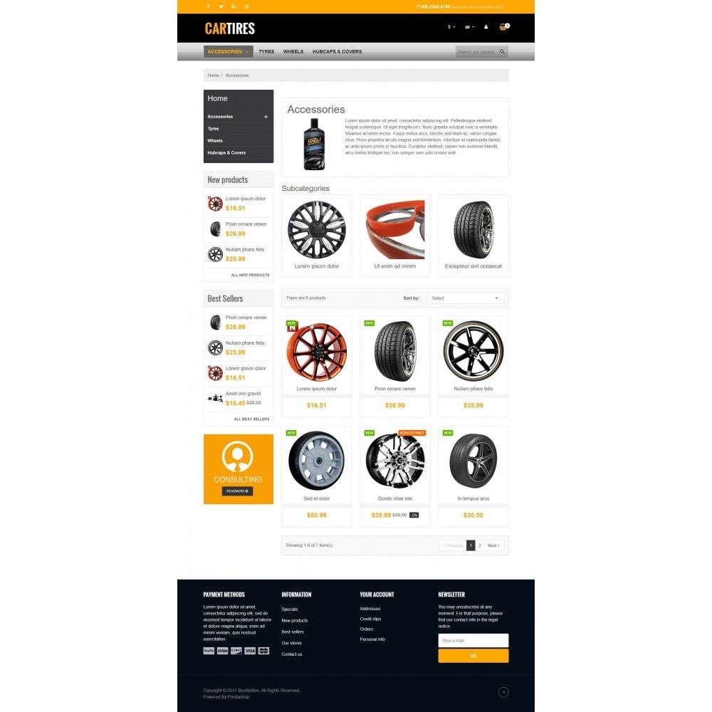 theme - Autos & Motorräder - VP_Cartires Store - 3