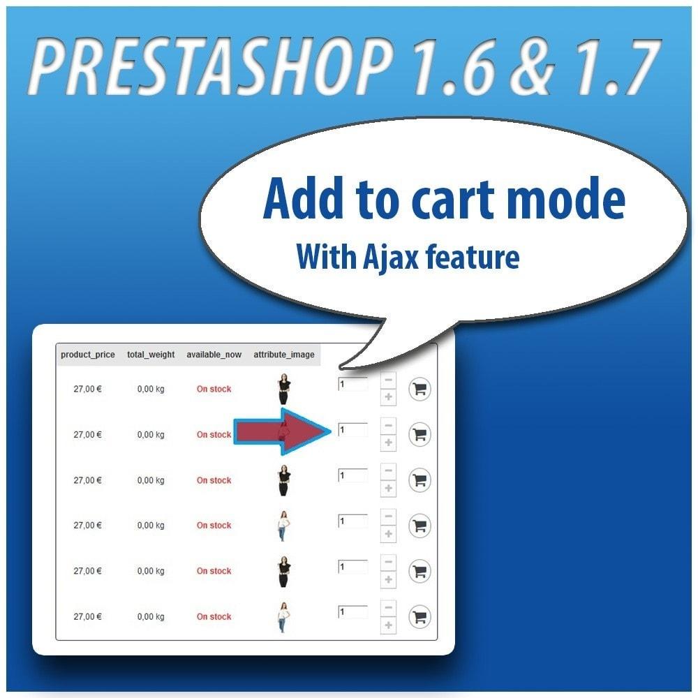 module - Combinaciones y Personalización de productos - Combinations Table PRO - 3