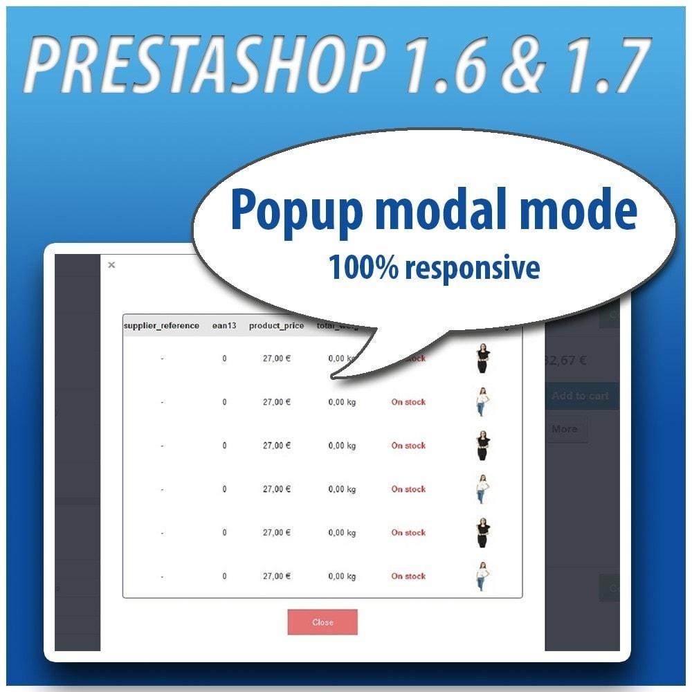 module - Combinaciones y Personalización de productos - Combinations Table PRO - 4