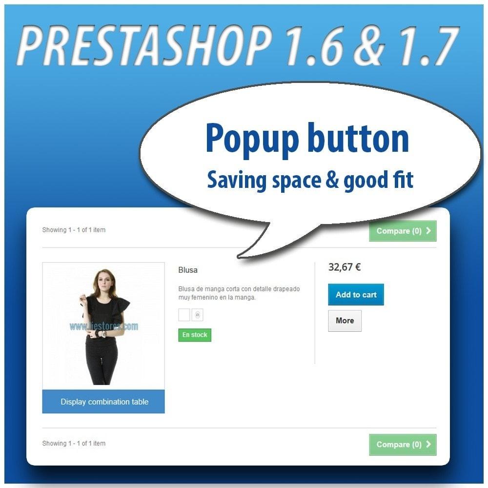 module - Combinaciones y Personalización de productos - Combinations Table PRO - 6