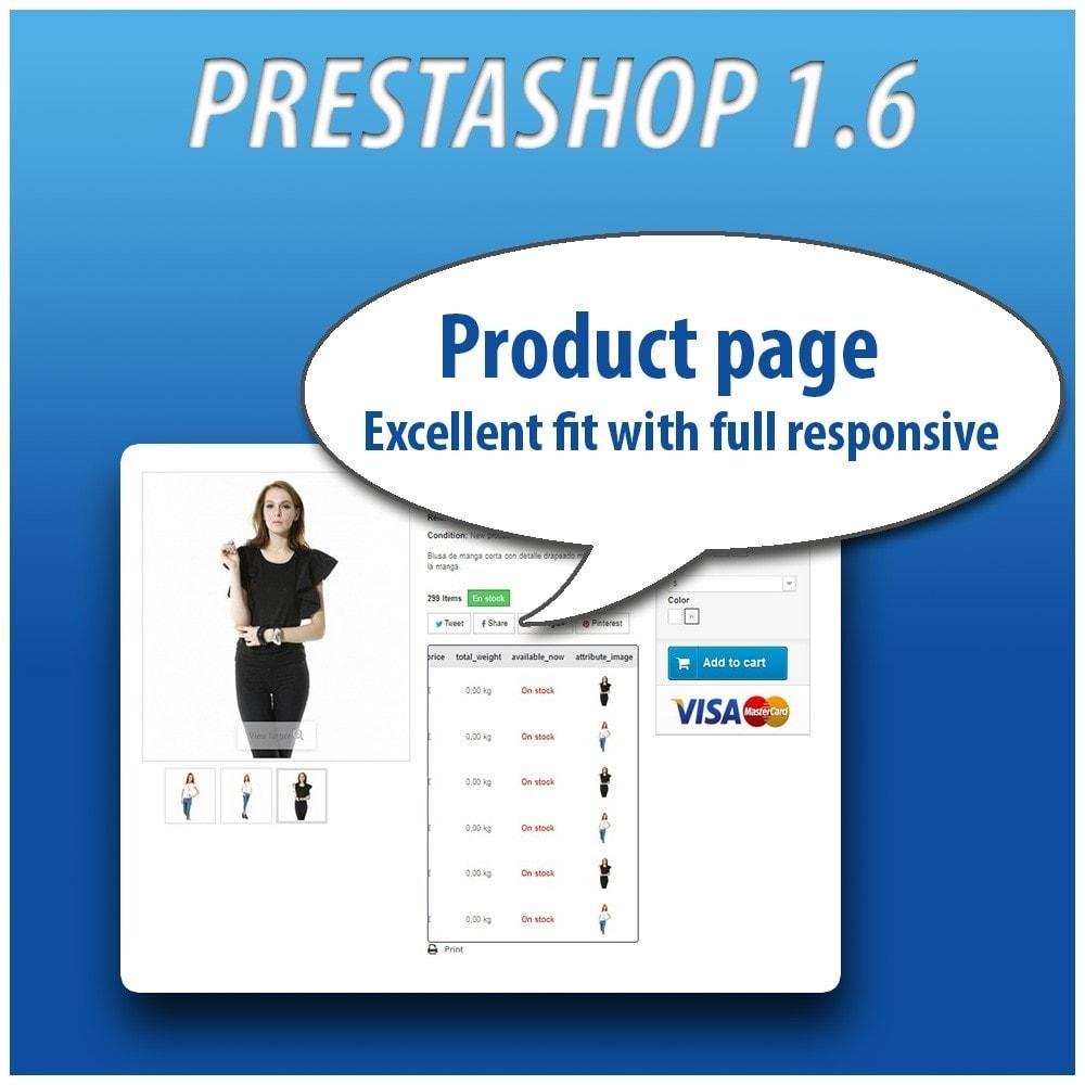 module - Combinaciones y Personalización de productos - Combinations Table PRO - 11