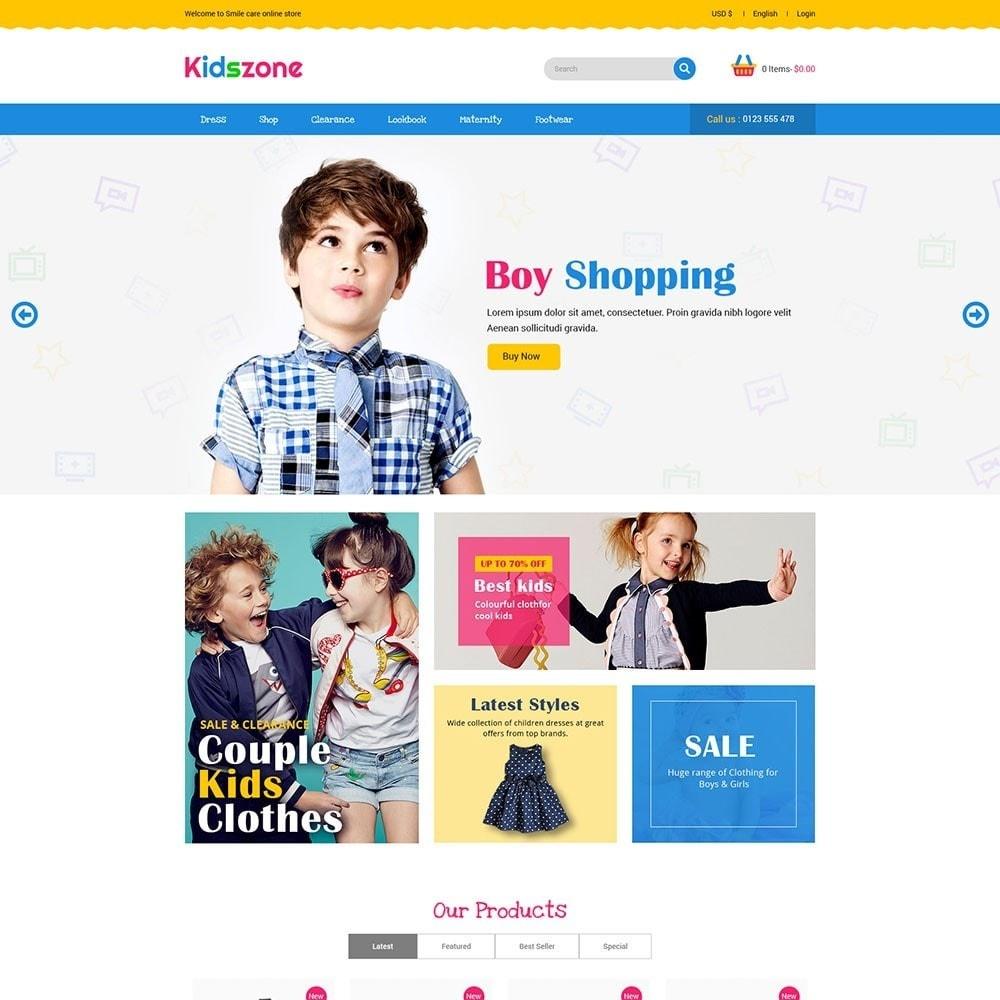theme - Zabawki & Artykuły dziecięce - KidsZone - Kids Store - 2