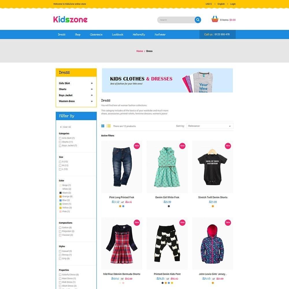 theme - Zabawki & Artykuły dziecięce - KidsZone - Kids Store - 3