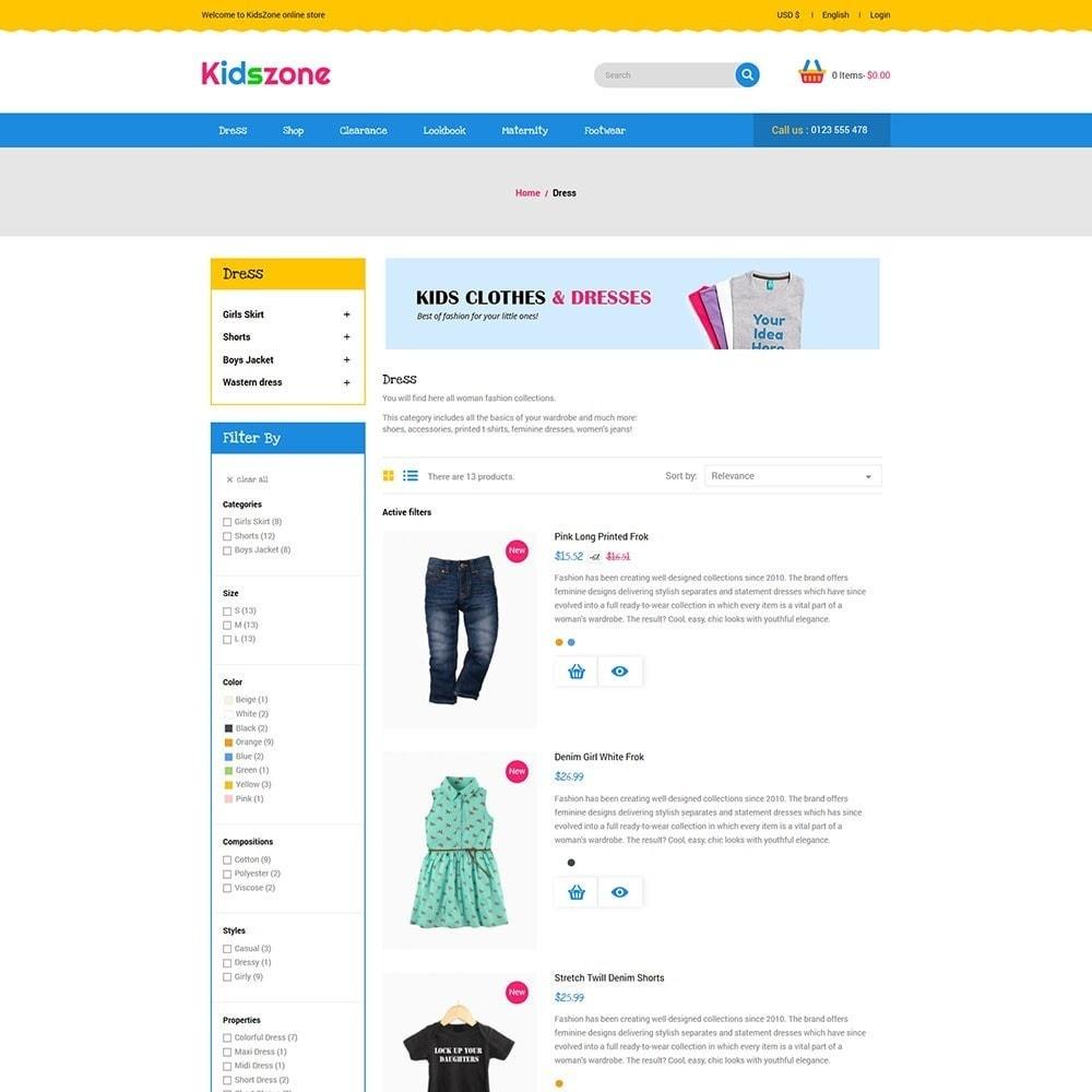 theme - Zabawki & Artykuły dziecięce - KidsZone - Kids Store - 4