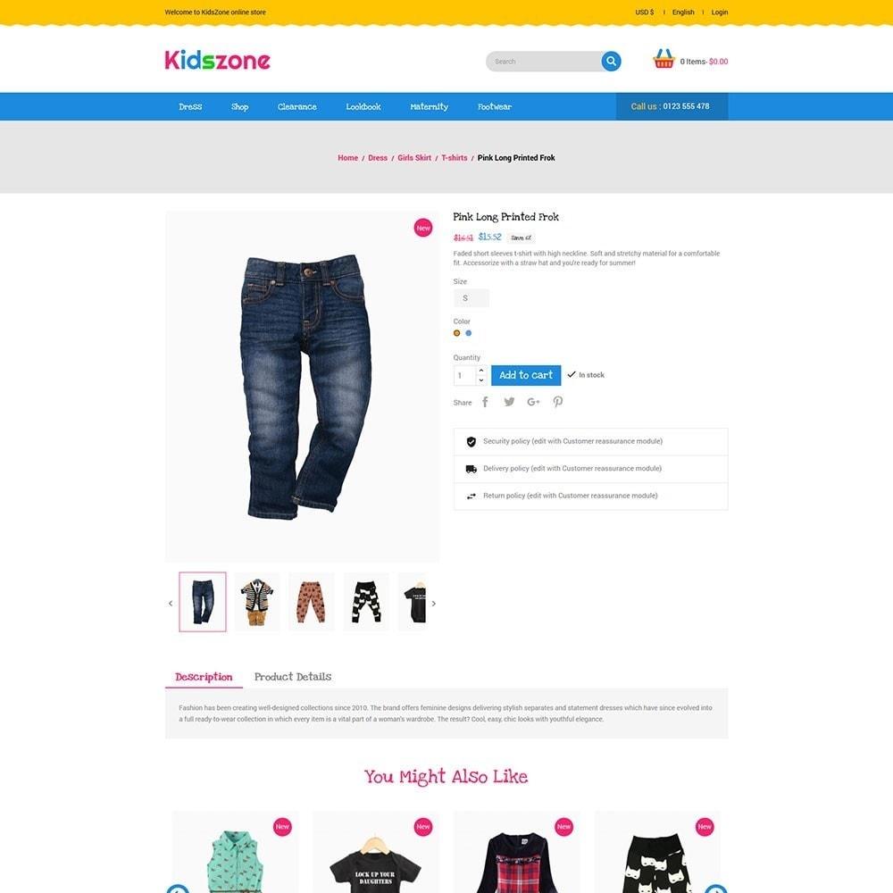 theme - Zabawki & Artykuły dziecięce - KidsZone - Kids Store - 5