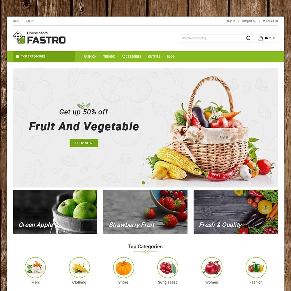 theme - Alimentation & Restauration - Fastro Grocery Store - 2