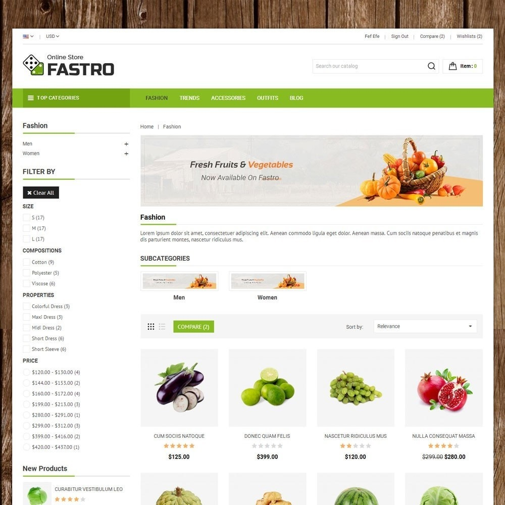 theme - Alimentation & Restauration - Fastro Grocery Store - 3