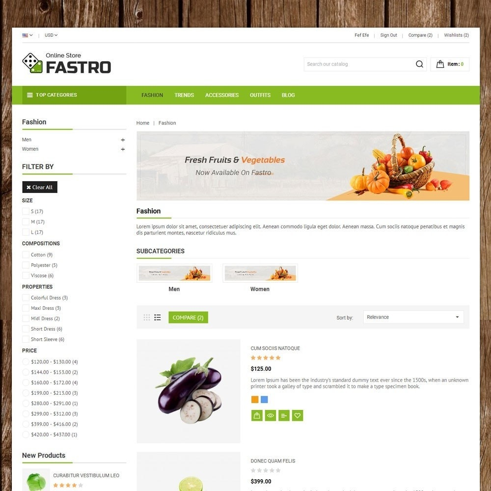 theme - Alimentation & Restauration - Fastro Grocery Store - 4