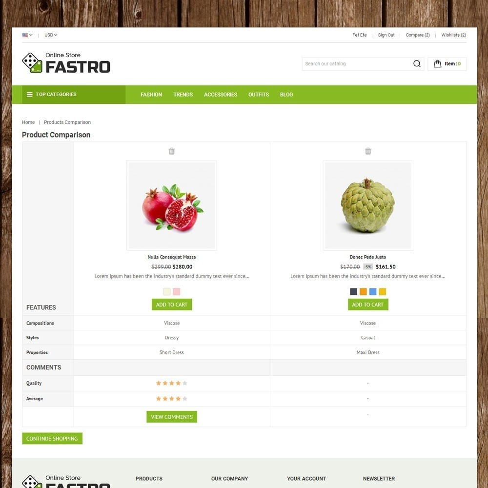 theme - Alimentation & Restauration - Fastro Grocery Store - 7