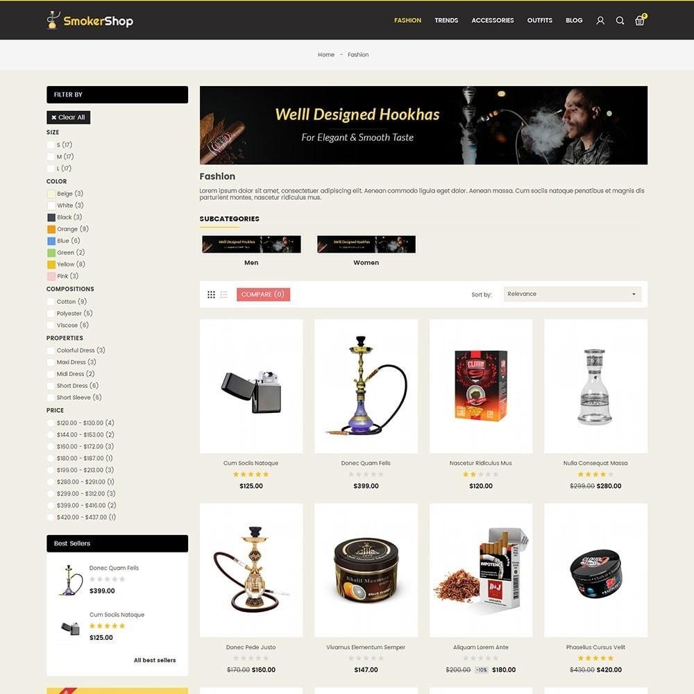 theme - Napoje & Wyroby tytoniowe - Smoker Store - 3
