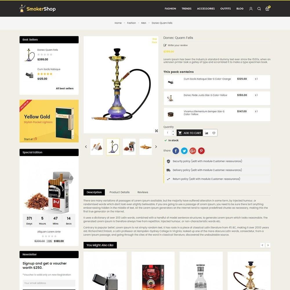 theme - Napoje & Wyroby tytoniowe - Smoker Store - 5