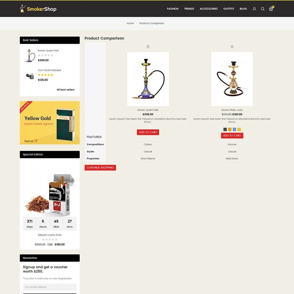 theme - Napoje & Wyroby tytoniowe - Smoker Store - 7