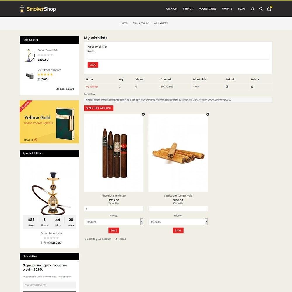 theme - Napoje & Wyroby tytoniowe - Smoker Store - 8