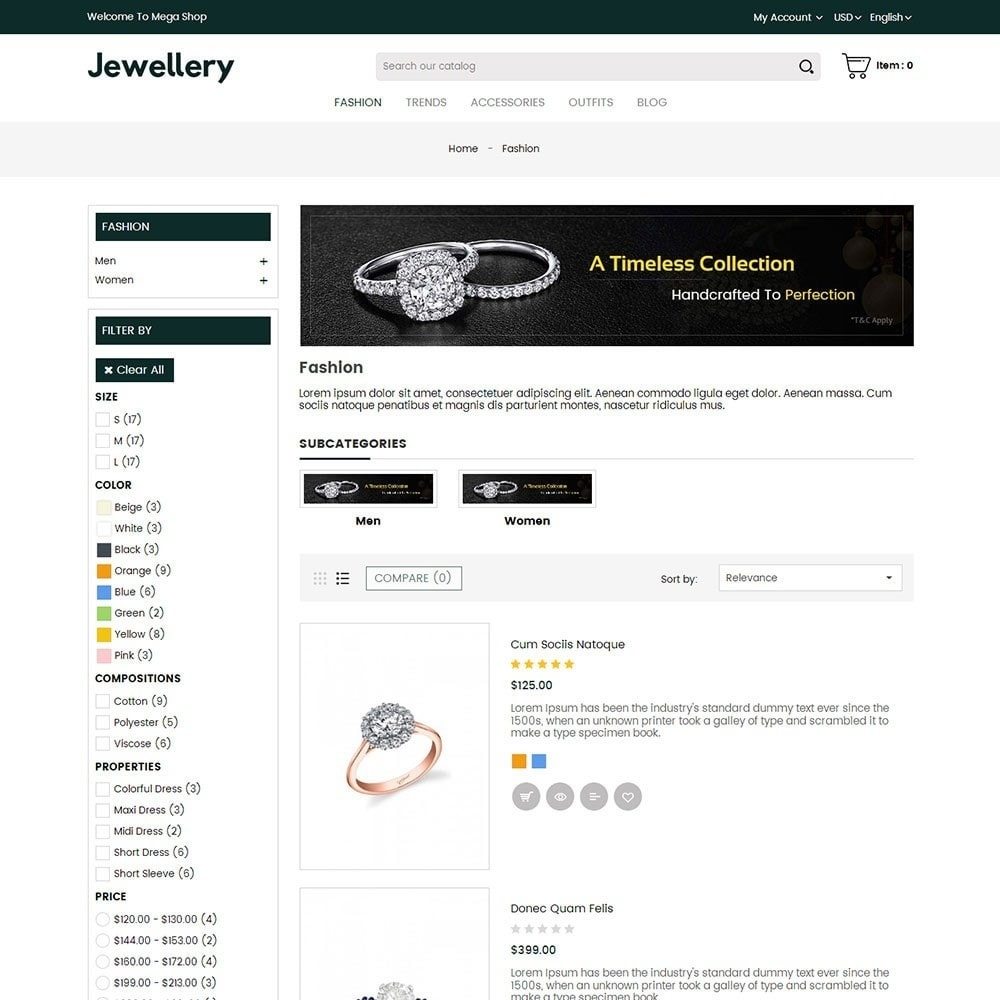theme - Sieraden & Accessoires - Jewellery Store - 4
