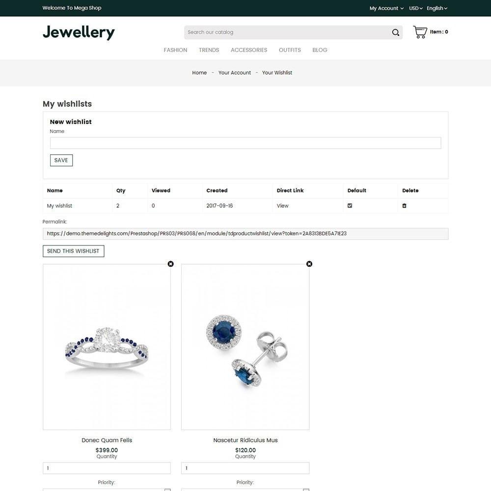 theme - Sieraden & Accessoires - Jewellery Store - 8