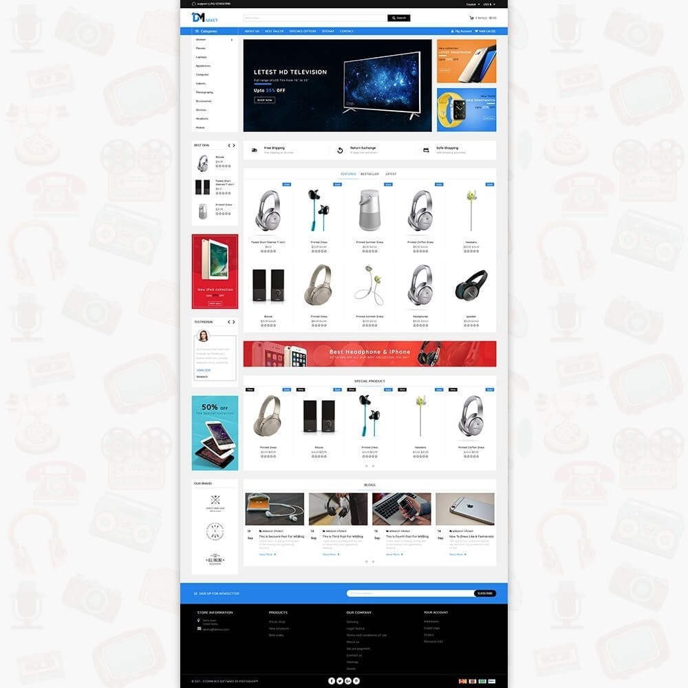 theme - Elettronica & High Tech - DM Market - The Mega Electronics Store - 2