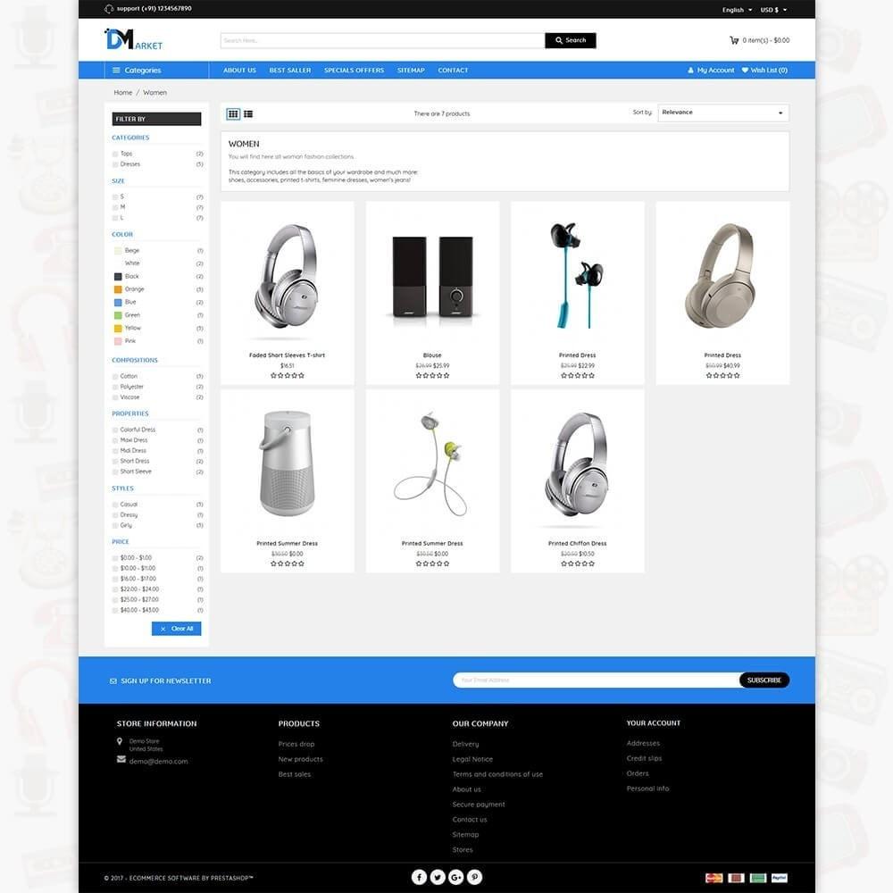 theme - Elettronica & High Tech - DM Market - The Mega Electronics Store - 3
