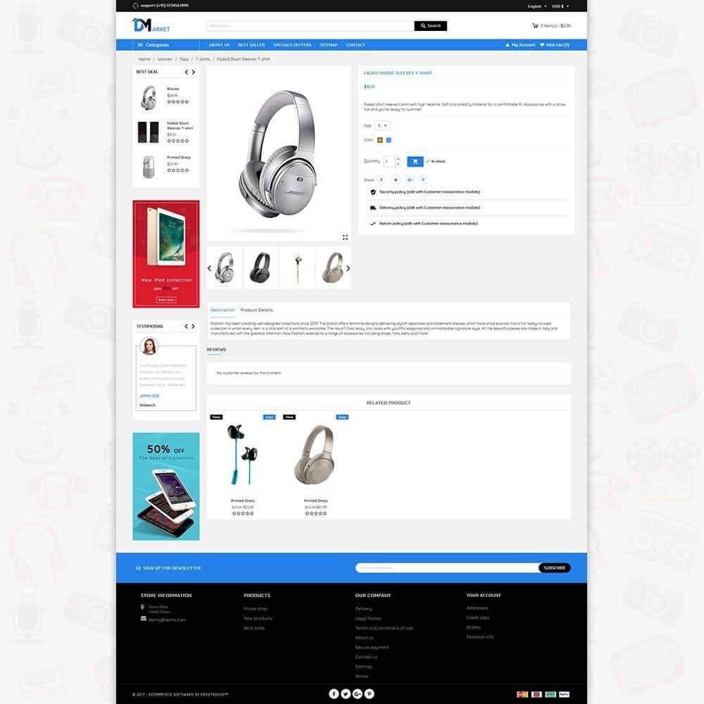 theme - Elettronica & High Tech - DM Market - The Mega Electronics Store - 5