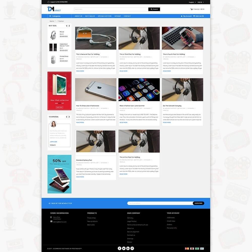 theme - Elettronica & High Tech - DM Market - The Mega Electronics Store - 6