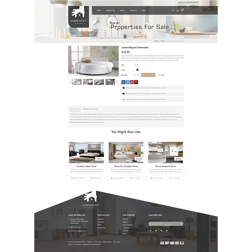 theme - Casa & Jardins - Construct Real Estate - 5