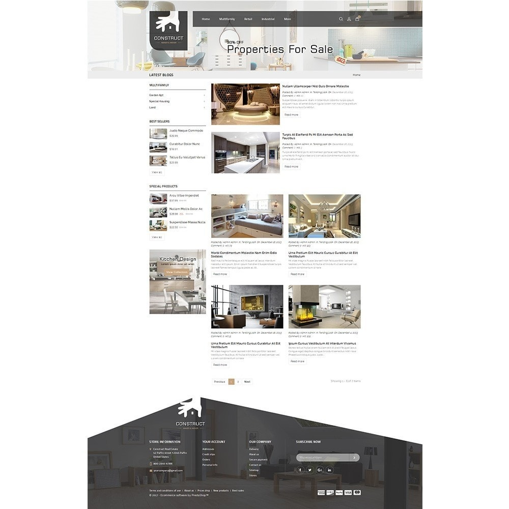 theme - Casa & Jardins - Construct Real Estate - 8
