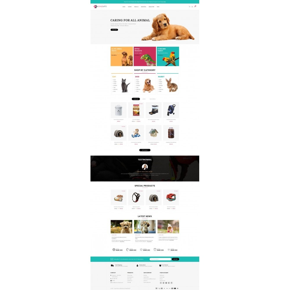 theme - Animales y Mascotas - PawPurrz - Pets Store - 2