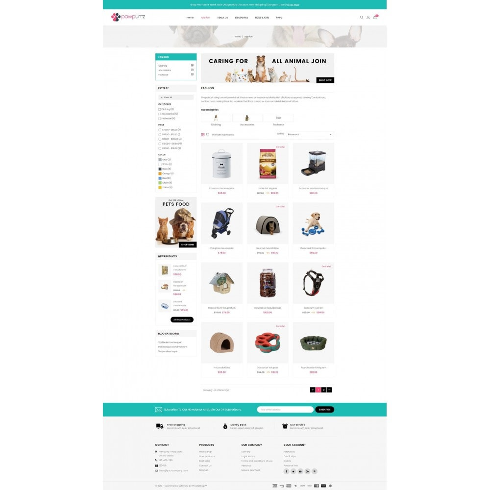 theme - Dieren - PawPurrz - Pets Store - 3