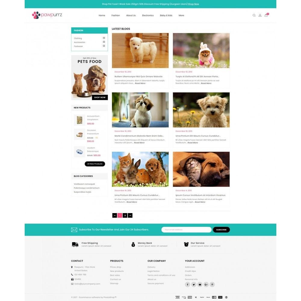 theme - Животные и домашние питомцы - PawPurrz - Pets Store - 9