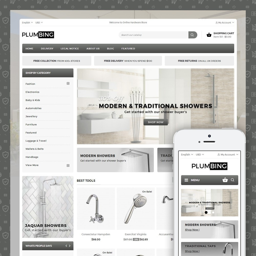 theme - Dom & Ogród - Plumbing - Hardware Store - 1
