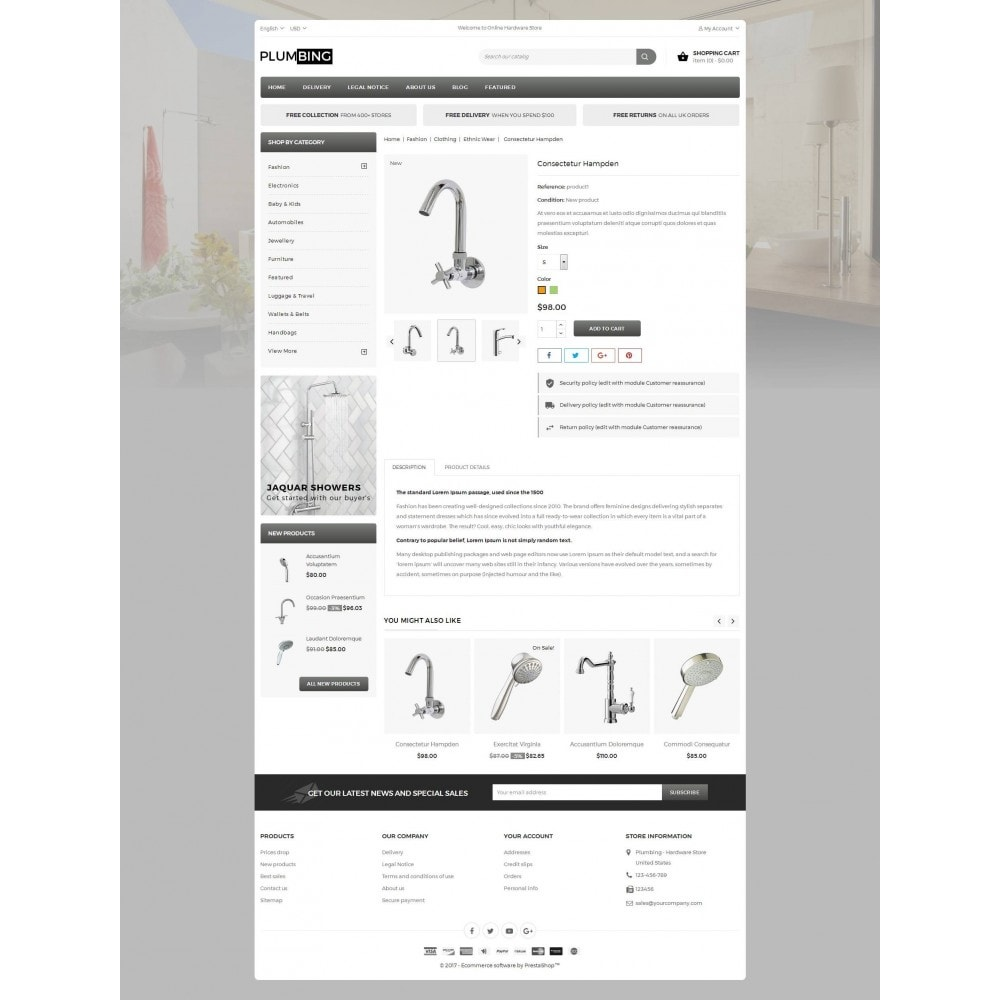 theme - Dom & Ogród - Plumbing - Hardware Store - 5
