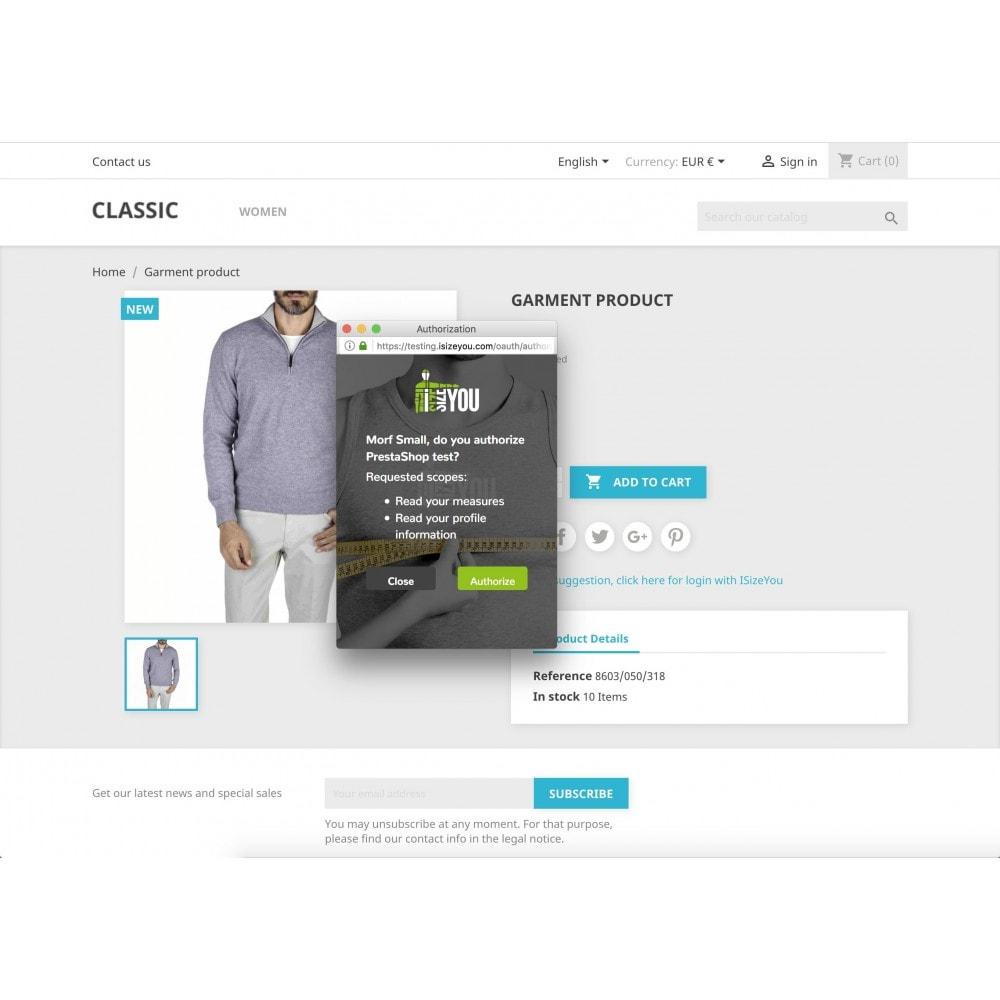 module - Rozmiary i jednostki - ISizeYou - Perfect size for any brand or shop - 2