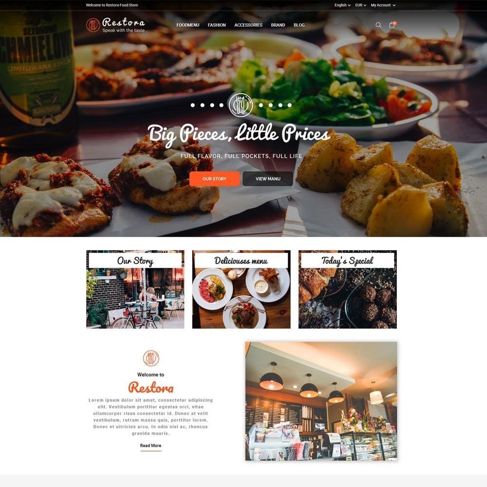 theme - Продовольствие и рестораны - Restora Food Store - 2