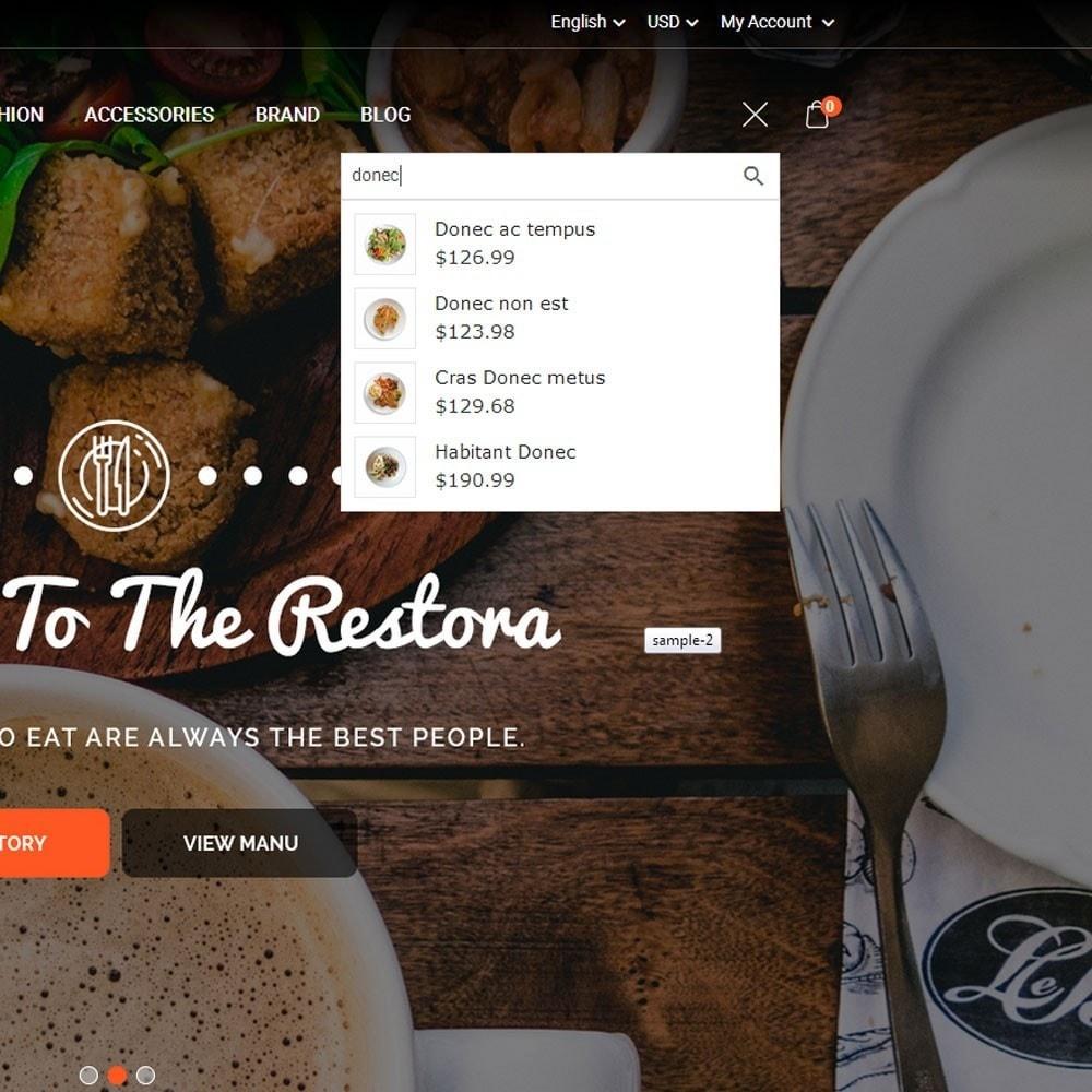 theme - Продовольствие и рестораны - Restora Food Store - 3