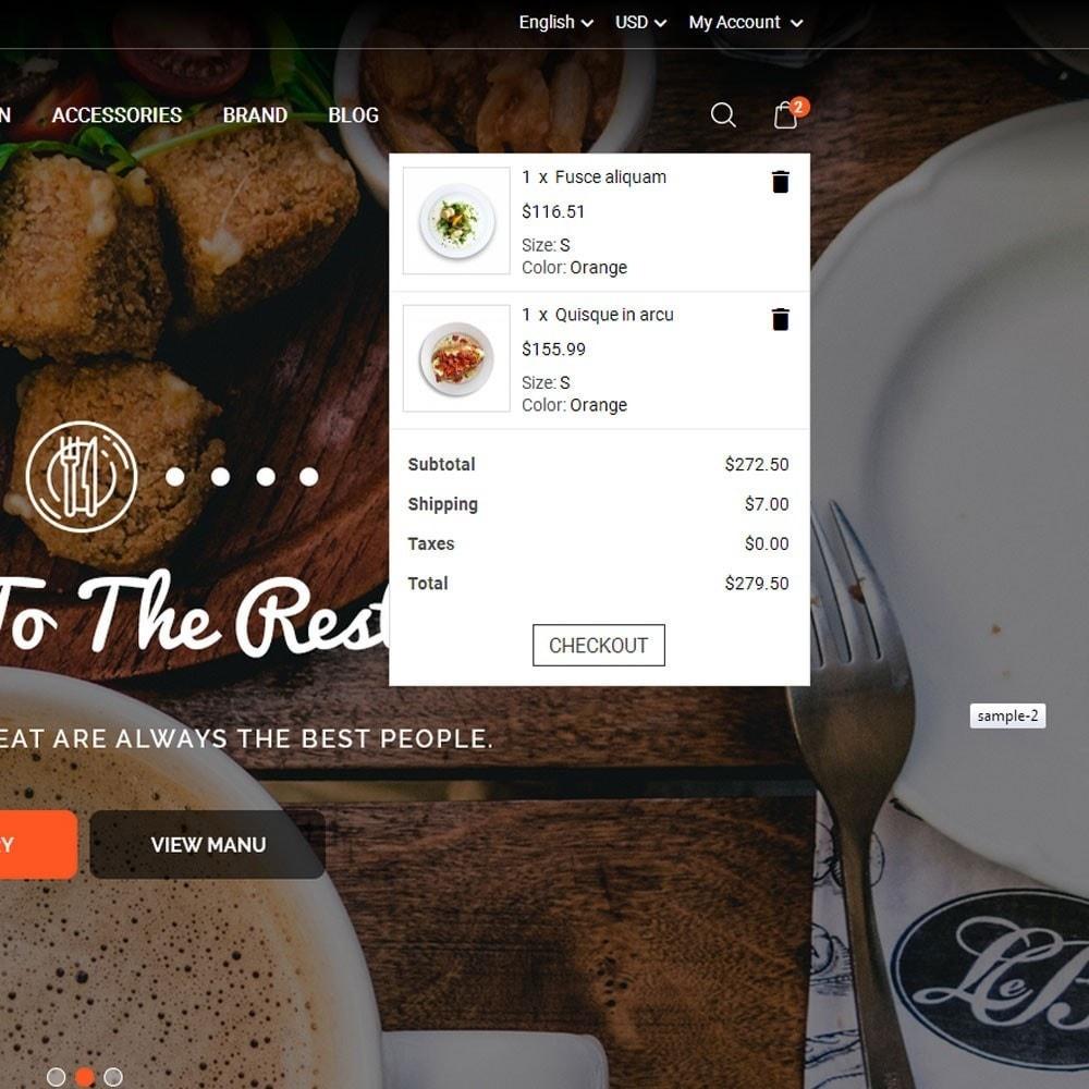 theme - Продовольствие и рестораны - Restora Food Store - 4