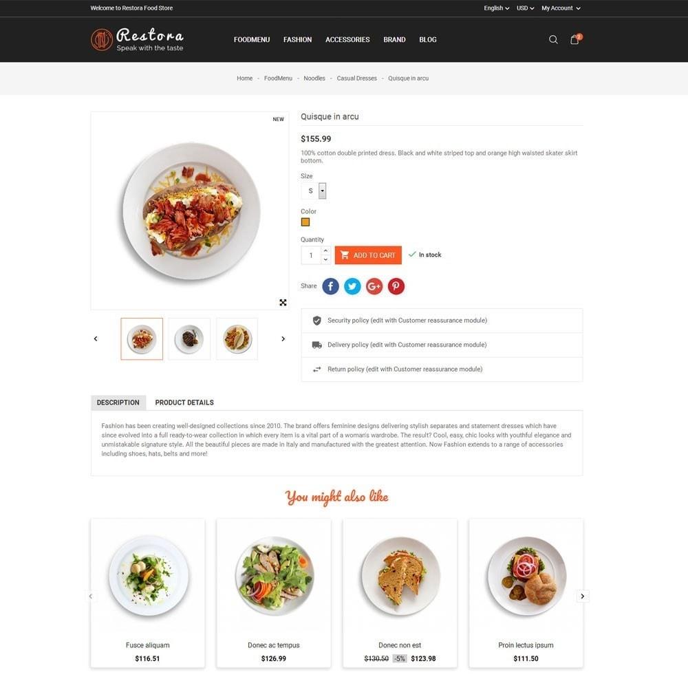 theme - Продовольствие и рестораны - Restora Food Store - 7