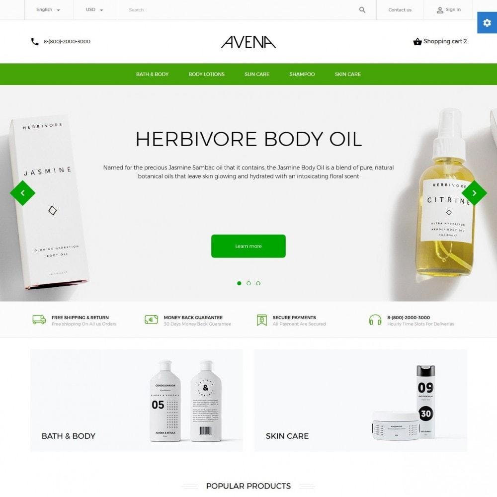 theme - Health & Beauty - Avena Cosmetics - 2
