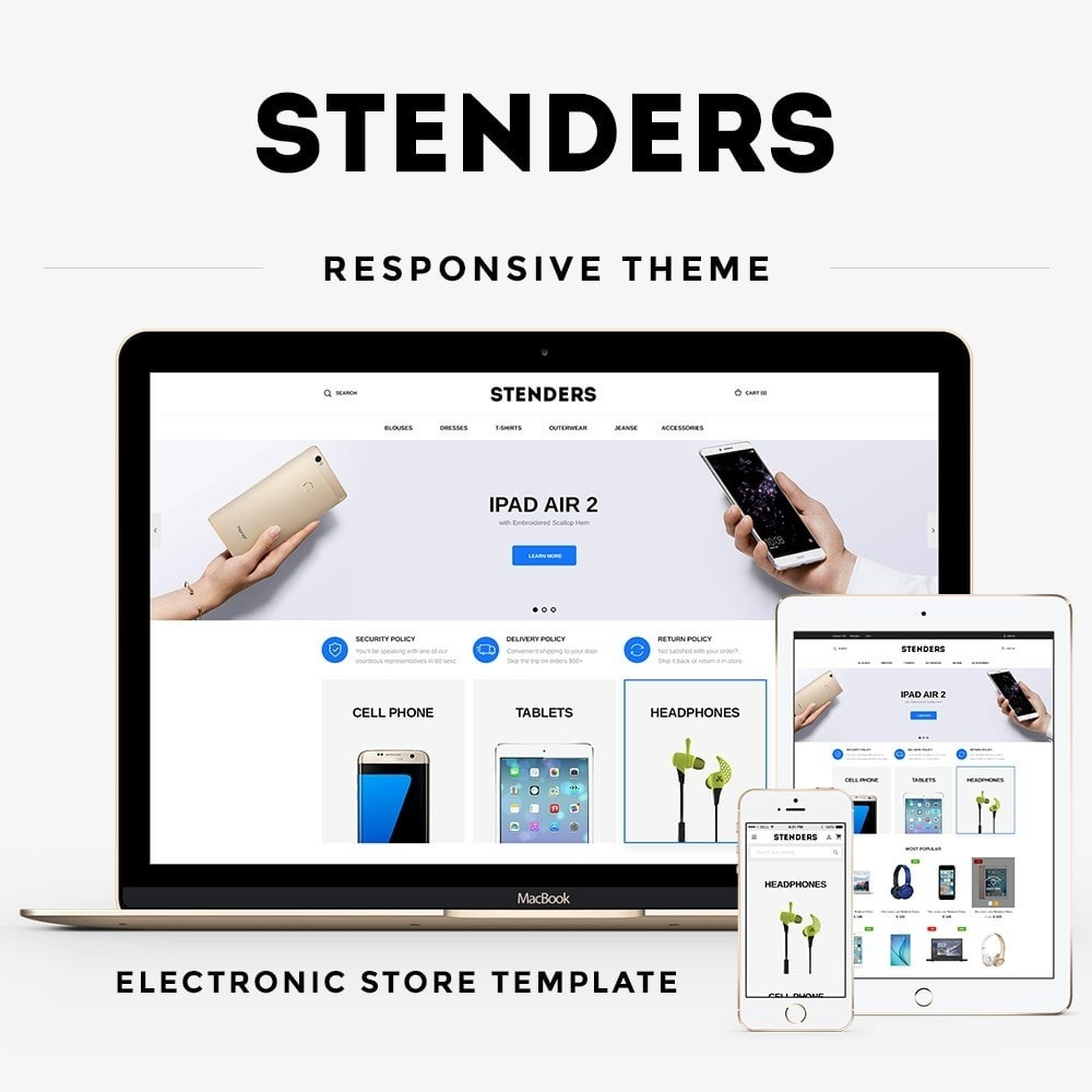 theme - Electronics & Computers - Stenders - High-tech Shop - 1