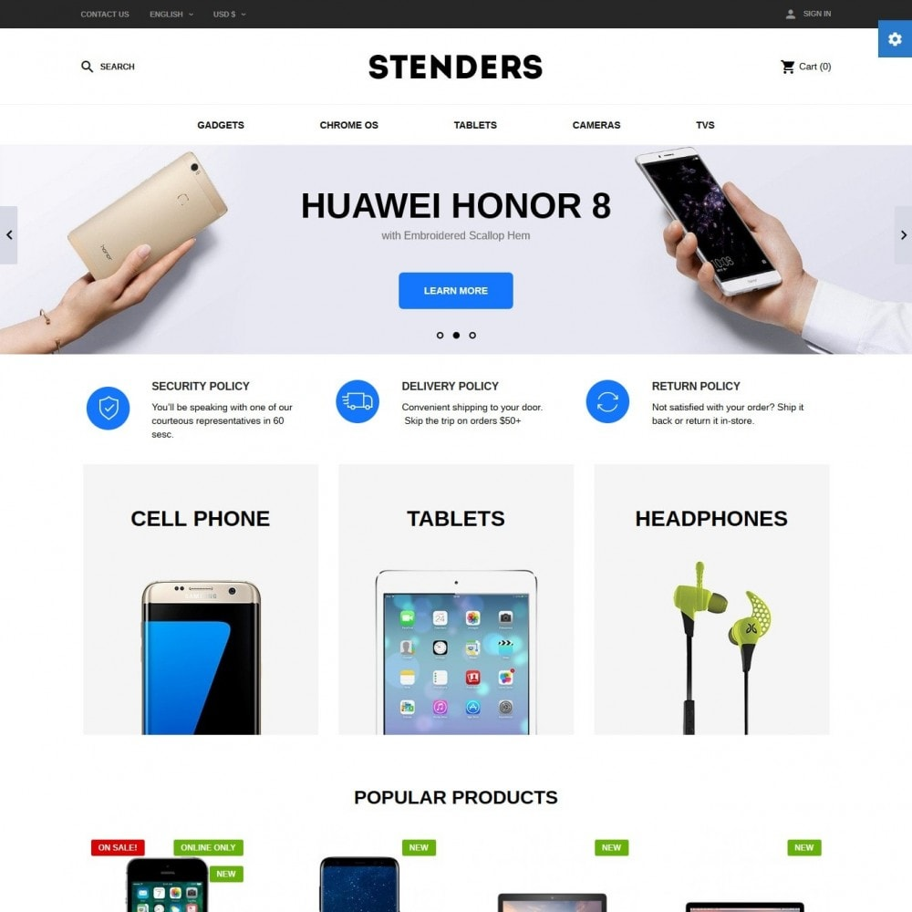 theme - Electronics & Computers - Stenders - High-tech Shop - 2