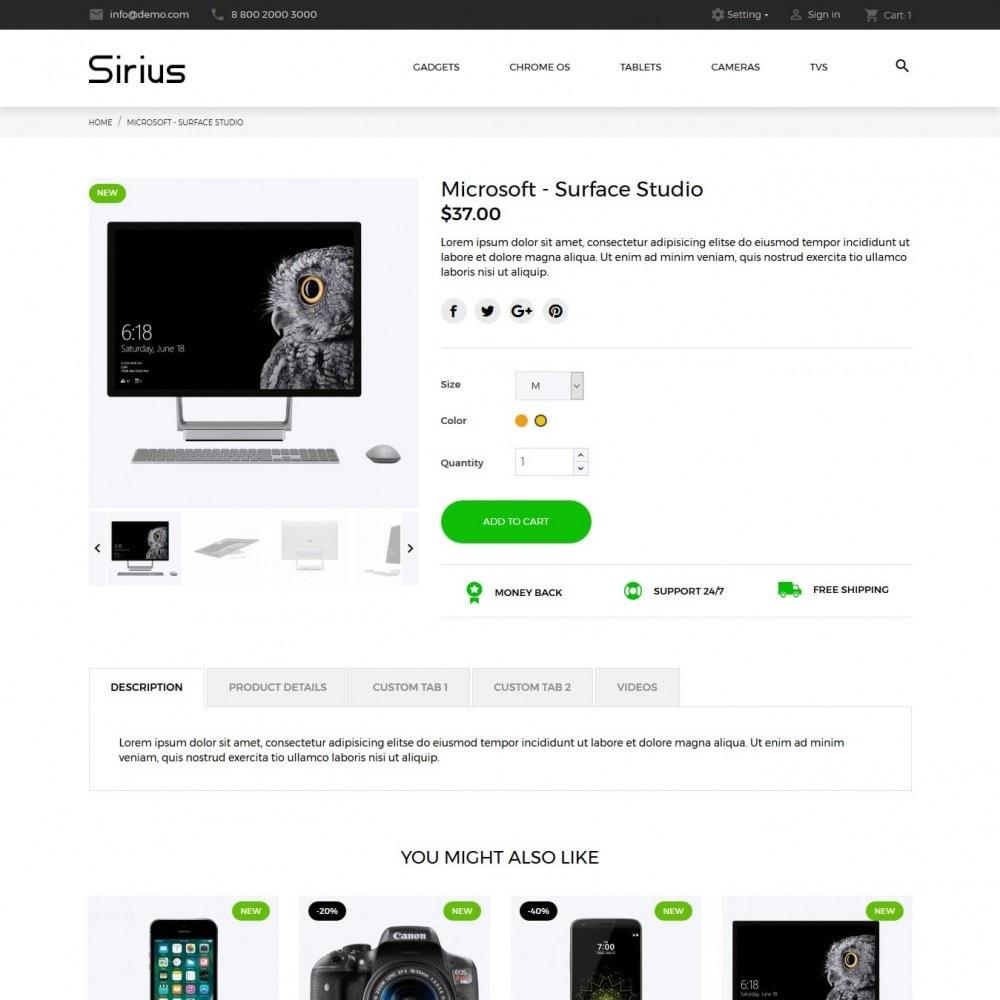 theme - Electronics & Computers - Sirius - High-tech Shop - 6